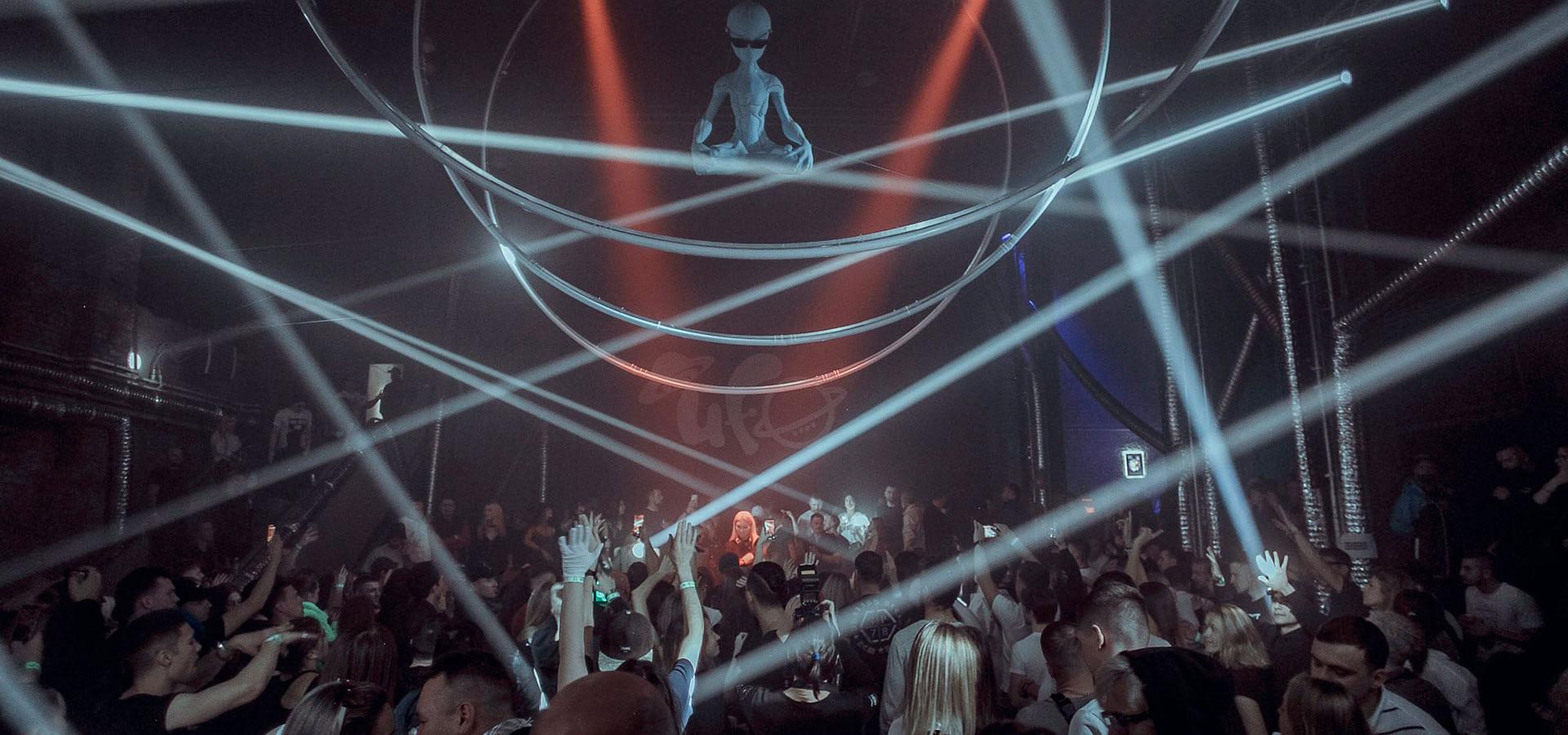 UFO goes to Saint Petersburg